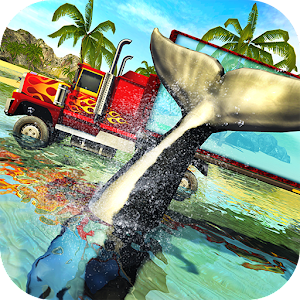 Download Blue Sea Whale Transport Truck Simulator For PC Windows and Mac