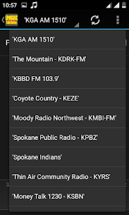 Spokane-Radio Stations - screenshot
