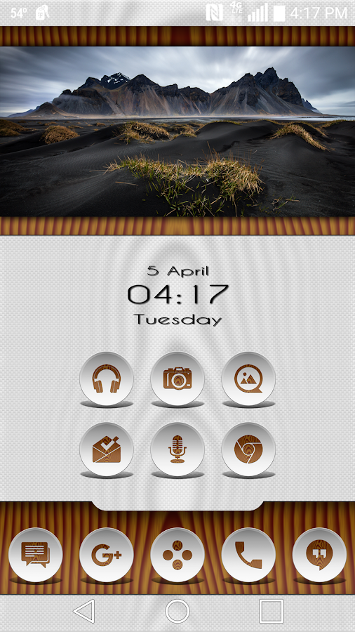 Daf White Wood - Icon Pack Screenshot