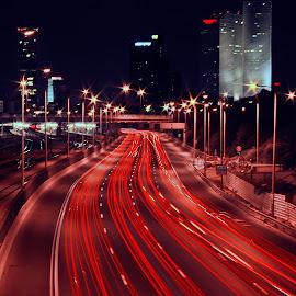 ayalon by Joel Adolfo    - Transportation Roads ( transportation, roads )
