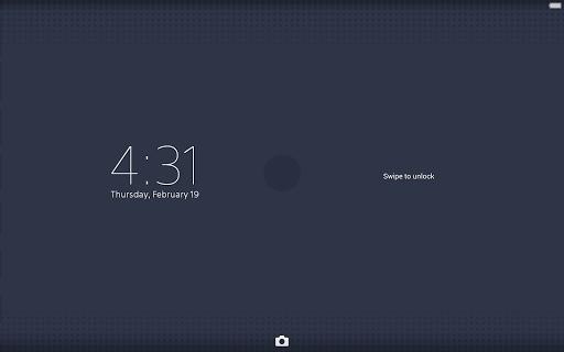 XPERIA Dots Theme - screenshot