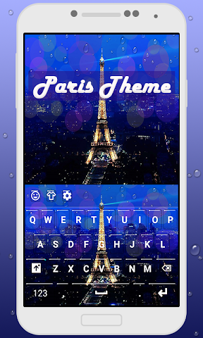android Paris Keyboard Theme Screenshot 0
