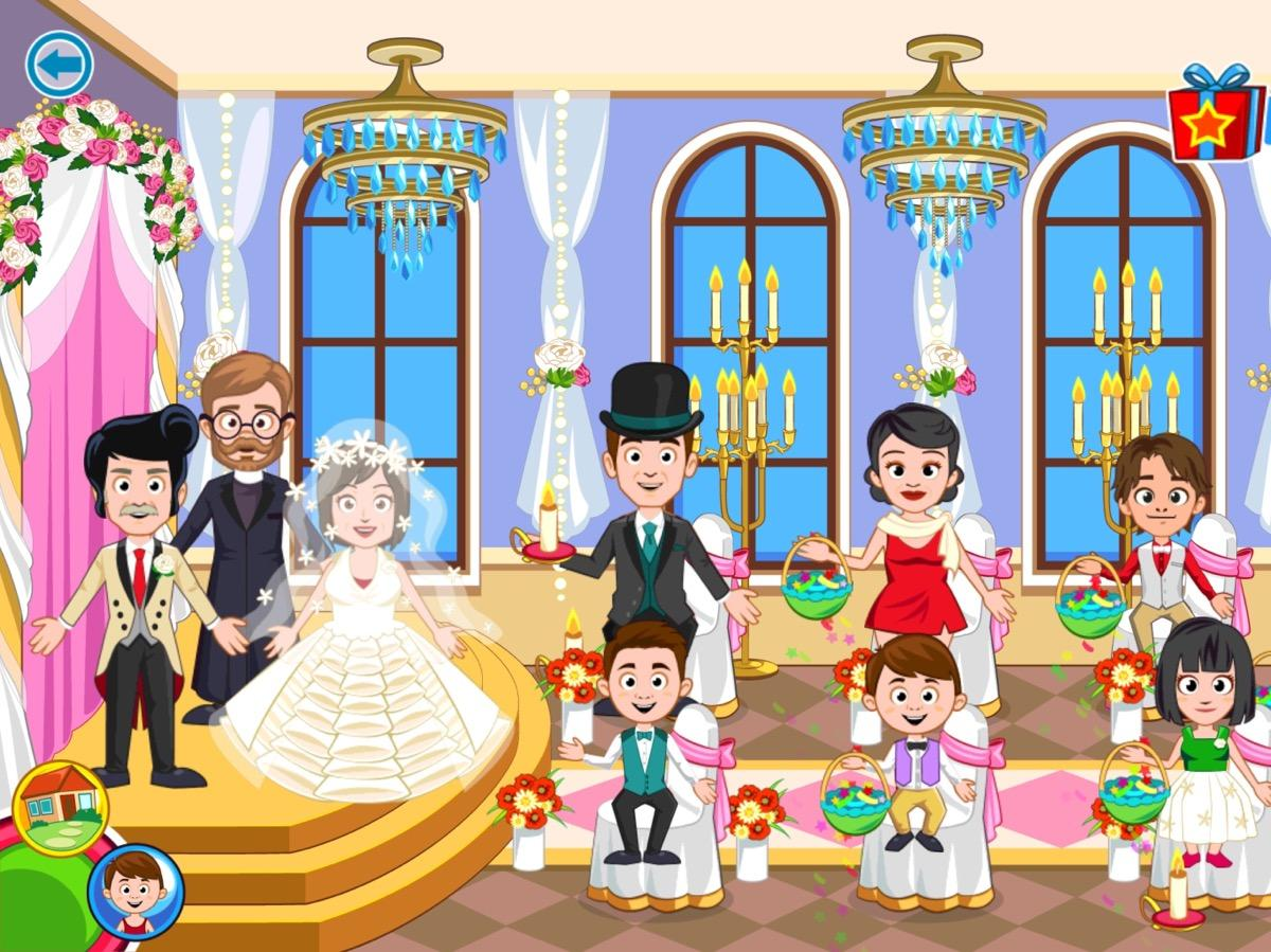 My Town : Wedding Screenshot 5