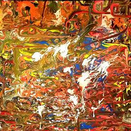 UNDERWORLD! by Zoritza  Wejnfalk - Painting All Painting ( modern art, abstract art, zoritza, zoritzasart, underworld, wejnfalk )