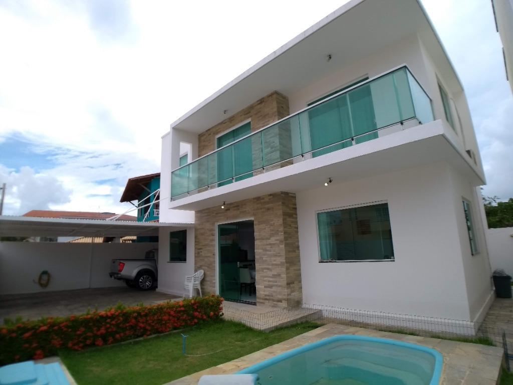 Casa com 3 dormitórios à venda, 137 m² por R$ 600.000,00 - Ponta de Campina - Cabedelo/PB