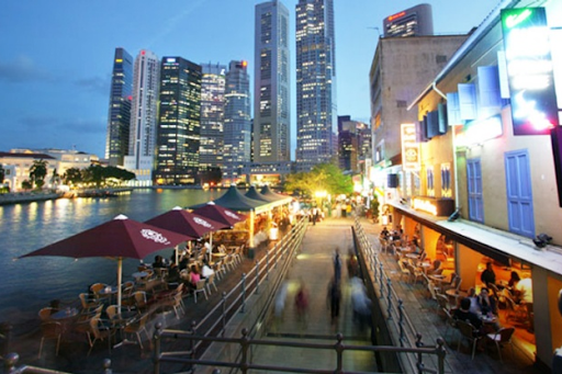Restaurants and Cafes in Robertson Quay