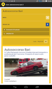 Autosoccorso Bari - screenshot