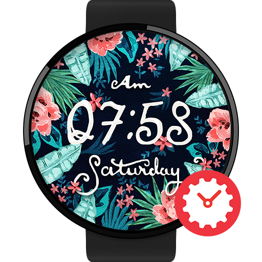 Fiore watchface by Iris