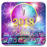 Happy New Year Keyboard Theme Icon