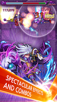 Monster Strike APK screenshot thumbnail 2