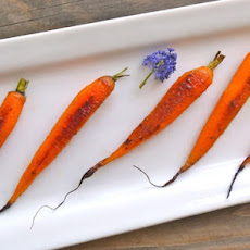 Cardamom-Honey Roasted Baby Carrot