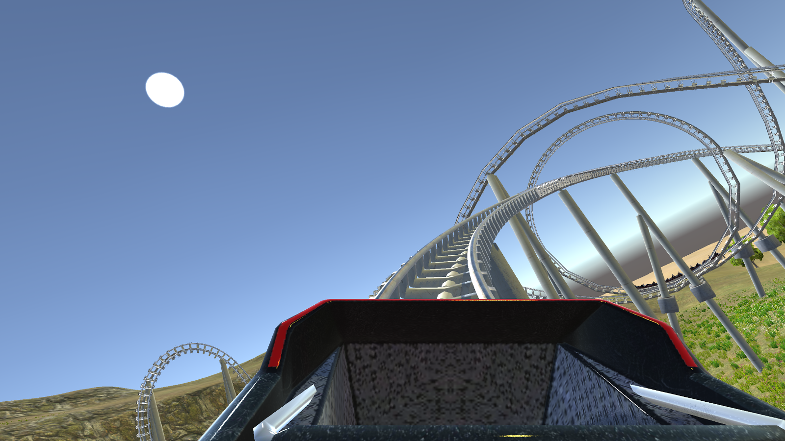 Cardboard VR 3D Roller Coaster Screenshot 2