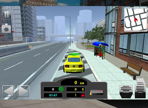 City Taxi Simulator 2015 - screenshot