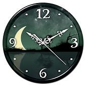 App Night Sky Clock Live Wallpaper APK for Kindle