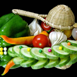 Colourful by SANGEETA MENA  - Food & Drink Fruits & Vegetables