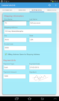 Screenshot of Cellica Database Anywhere Form