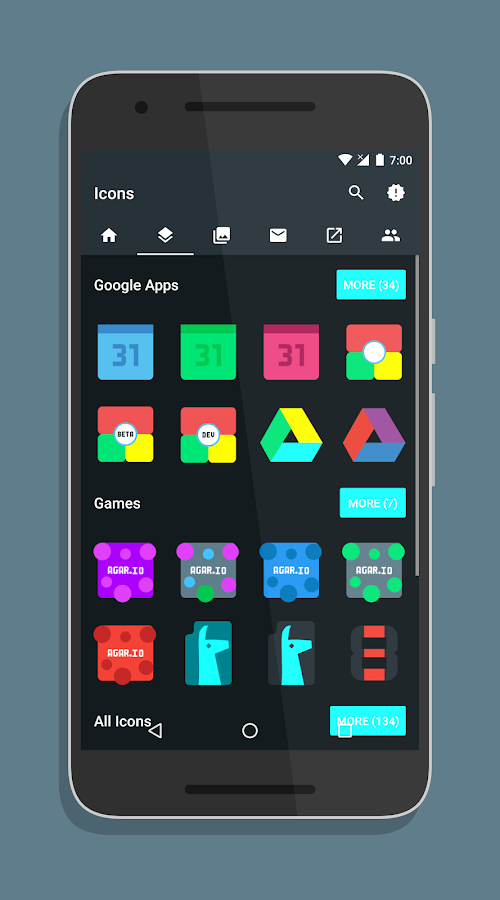 Source - Icon Pack Screenshot 1