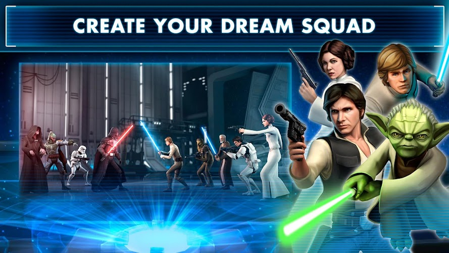 Star Wars™: Galaxy of Heroes Android App Screenshot
