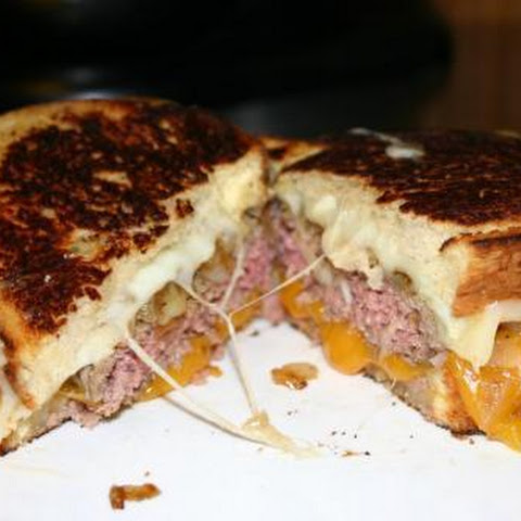 Grilled Cheese Burgers!