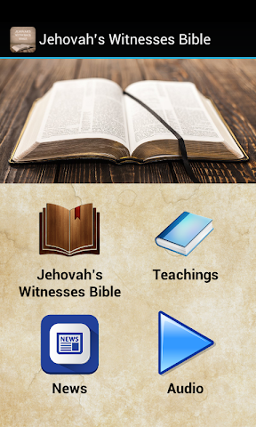 android Jehovah's Witnesses Bible Screenshot 0