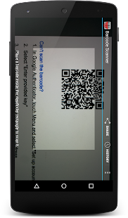 Scan Account to Watch - screenshot
