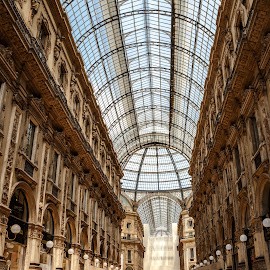 In the Galleria by Vinod Kalathil - Buildings & Architecture Other Interior ( milan, building, architecture, italy )