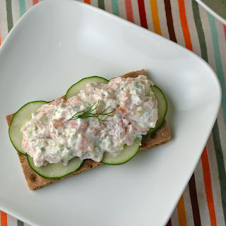 Smoked Salmon in Sour Cream-Horseradish Sauce