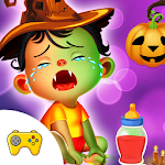 Halloween Baby Daycare Icon