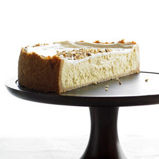 Very-Almond Cheesecake