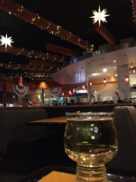 Hard cider and ambiance.