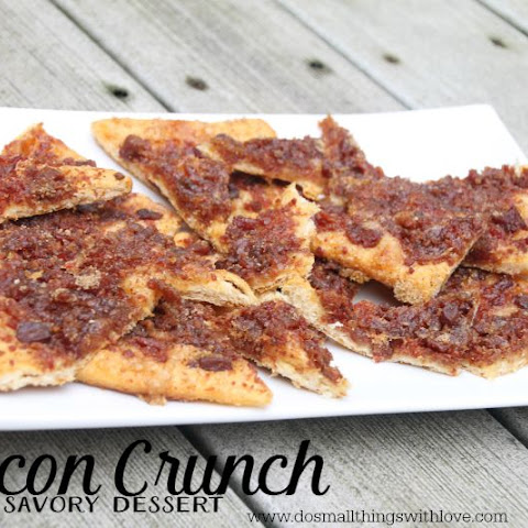 Bacon Crunch Savory Dessert