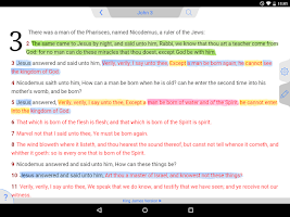 Screenshot of Message Bible