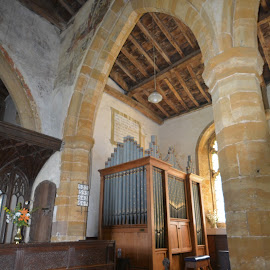 Ashby St. Ledgers by Victoria Eversole - Buildings & Architecture Places of Worship ( medieval churches in britain, ashby st. ledgers )