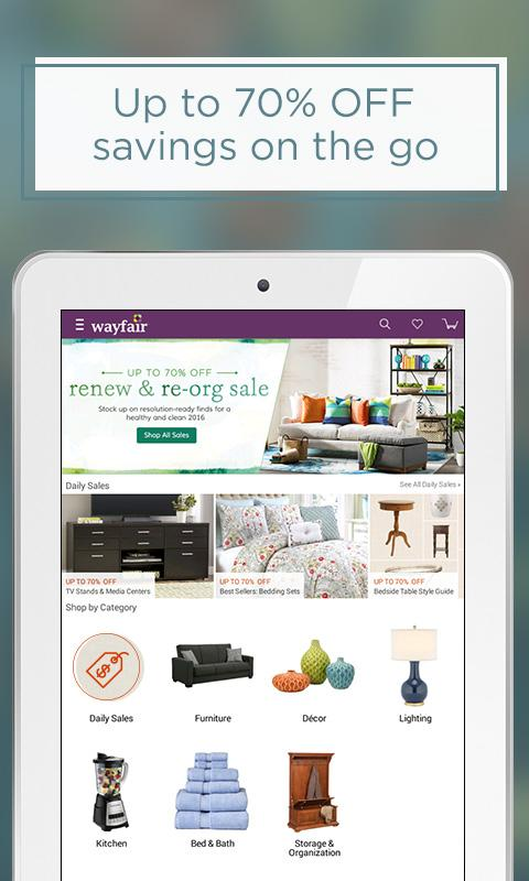 Wayfair - Furniture & Decor Screenshot 5