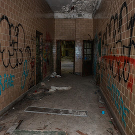 Insane Asylum by Lorraine D.  Heaney - Buildings & Architecture Decaying & Abandoned