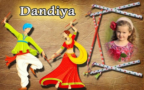 Navaratri Dandiya Photo Frame - screenshot