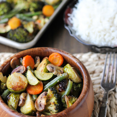 Balsamic and Soy Vegetable Medley