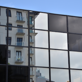old mirrored in new by Rachel Urlich - Buildings & Architecture Office Buildings & Hotels (  )