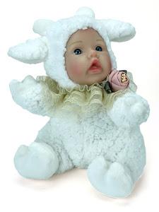 """Игрушка мягконабивная плюшевая """"Anna De Wailly"""", овечка"""