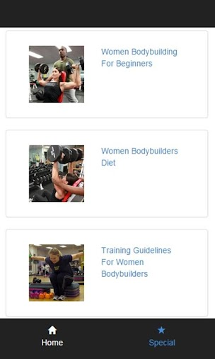 women bodybuilding APK