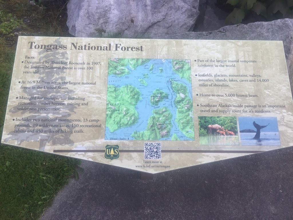 Tongass National ForestFacts:- Designated by Theodore Roosevelt in 1907, the Tongass National Forest is over 100 years old.- At 16.9 Million acres, the largest national forest in the United States.- ...