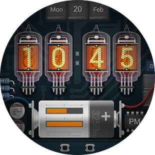Nixie Uhr Gesicht android apps download