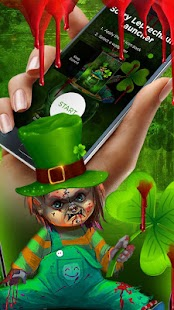 Scary Leprechaun Launcher - Wallpapers and Icons