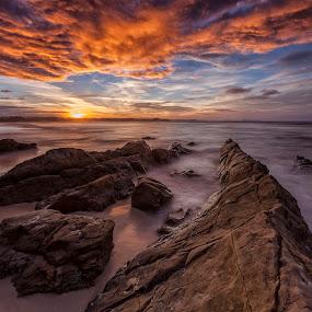 Afternoon Light by Steve Badger - Landscapes Sunsets & Sunrises ( queensland, gold coast, sunset, kirra, australia,  )