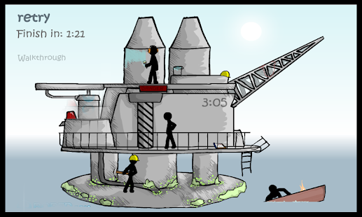 Stickman Puzzle Oil Well - screenshot