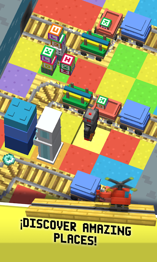 Crossy Robot : Combine Skins Screenshot 1