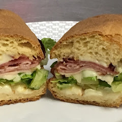 Italian sub on a fresh from scratch hoagie roll