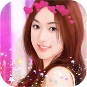 Photo Booth Heart Crown-Photo Flower Editor 2017