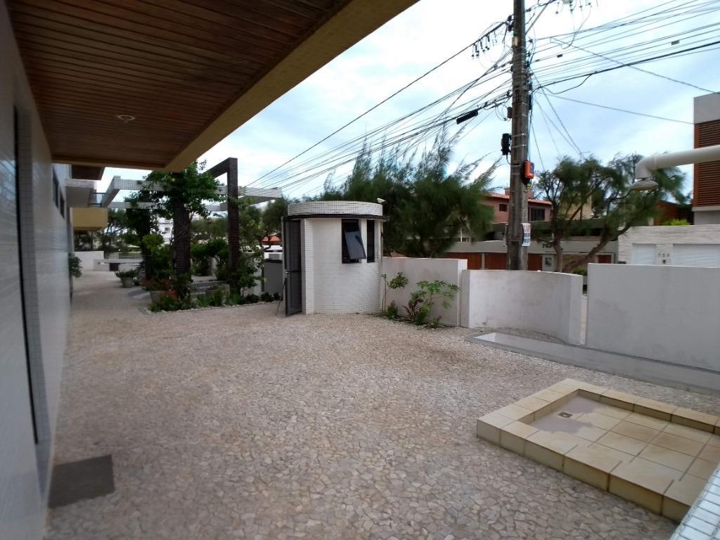 Apartamento com 3 dormitórios à venda, 241 m² por R$ 790.000,00 - Camboinha - Cabedelo/PB
