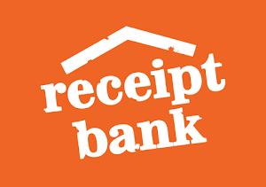 receipt bank data entry accounting software